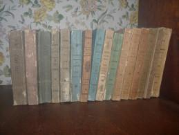 Almanach du Hainaut. 16 volumes. Entre 1827 et 1908.