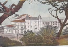 MILITARIA . ALGERIE  . ALGER .Le Kursaal Et La Caserne Pélissier - Casernes