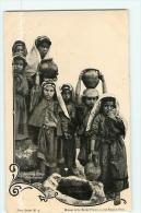 PALESTINE - Jeunes Filles Gabaonites - Porteuses D' Eau - Précurseur - TBE - Terre Sainte 3 - 2 Scans - Palestine