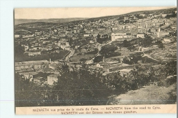 PALESTINE - Vue Générale Prise De La Route De Cana - TBE - 2 Scans - Palestine