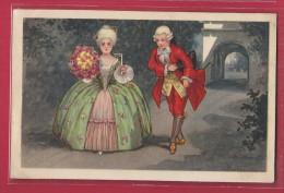 CPA Illustrée Par COLOMBO - Couple Renaissance - Colombo, E.