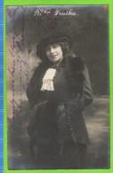Jane Zenska Forte Chanteuse Stolz Th�atre Royal d�Anvers 1913  Autographe
