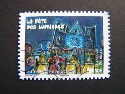 OBLITERE FRANCE ANNEE 2011 N°587 FETES ET TRADITIONS DE NOS REGIONS FETE DES LUMIERES DE LYON - France