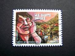 OBLITERE FRANCE ANNEE 2011 N°589 FETES ET TRADITIONS DE NOS REGIONS CHANTS CORSES - France