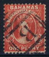 Bahamas: 1863 Yv Nr 5 Used, Signed/ Signé/signiert/ Approvato BRUN - Bahamas (...-1973)