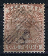 Bahamas: 1884 Yv Nr 23 Used, Signed/ Signé/signiert/ Approvato BRUN - Bahamas (...-1973)