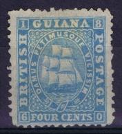 British Guinana 1860,  Yv Nr 24a   (*) Not Used - Brits-Guiana (...-1966)