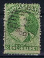 New Zealand 1864,  Yv Nr 36  SG 125 Used  Wm Star - 1855-1907 Kolonie Van De Kroon