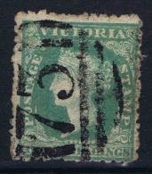 Victoria  ,Yv Nr 8   Used  Damaged - 1850-1912 Victoria