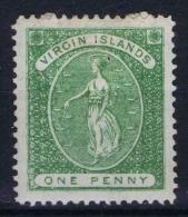 Virgin Islands ,Yv Nr 3  MH/* - Britse Maagdeneilanden