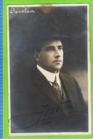 Joosten, Premi�re basse de grand Op�ra,  Th�atre Royal d�Anvers 1911-1913 Autographe, met bruine vlek op rand.