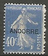 ANDORRE   N� 11   NEUF*   TB