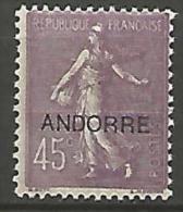 ANDORRE   N� 14   NEUF*   TB