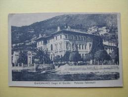 GARGNANO. Le Palais Feltrinelli. - Italie
