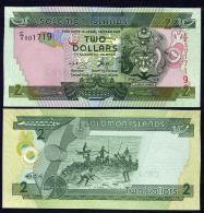 ISOLA SALOMON (SOLOMON ISLANDS)  : 2 Dollars - 2004-2006 - UNC - Isola Salomon