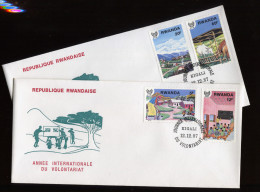 RUANDA, RWANDA, RWANDAISE, 1987 FDC - Rwanda