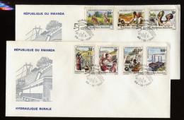 RUANDA, RWANDA, RWANDAISE, FDC 1981 - Rwanda