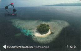 SOLOMON ISL.(GPT) - Kasolo Island(Kennedy Island), CN : 01SIC, First Issue $10, Used - Solomoneilanden