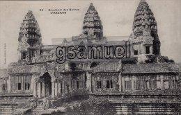 Asie > Cambodge - Souvenir Des Ruines D'ANGKOR (carte Précurseur). - (voir Scan). - Cambodia