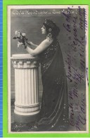 Odyle Hendrickx, Forte Chanteuse Stolz in �Quo Vadis� 1909-1911, Th�atre Royal d'Anvers  autographe