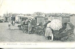 N°2460A -cpa Berck Plage -voitures Des Alades- - Berck