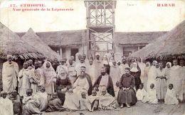 ETHIOPIE  HARAR VUE GENERALE DE LA LEPROSERIE - Ethiopie