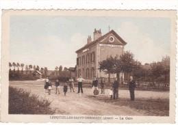 LESQUIELLES-SAINT-GERMAIN  (Aisne)   -  La  Gare - Autres Communes