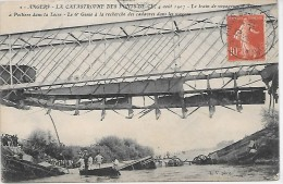 ANGERS - La Catastrophe Des PONTS DE CE - 4 Août 1907 - 2 - Le 6e Génie à La Recherche Des Cadavres - Unclassified
