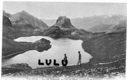 DEPT 73 ; Lac De Ruburent ( Animés ) Frontiere Franco Italiene - France