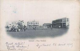 DJIBOUTI  PLACE MENELICK PETITE ANIMATION - Djibouti