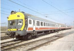 Nº359 POSTAL DE ESPAÑA DE UN ELECTROTREN 432-002-4 EN FUENCARRAL (TREN-TRAIN-ZUG) AMICS DEL FERROCARRIL - Trenes