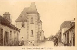 Savigne L´eveque Sarthe 72 Mairie Cadre Blanc 6221 - Otros Municipios