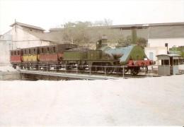 Nº387 POSTAL DE ESPAÑA DE UNA LOCOMOTORA DE VAPOR EN VILANOVA I LA GELTRU (TREN-TRAIN-ZUG) AMICS DEL FERROCARRIL - Trenes
