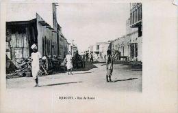 DJIBOUTI  RUE DE ROME ANIMEE - Djibouti