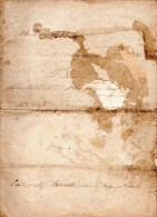 Bail De 1849, SEGRIE FONTAINE, RAUX, MESNIL HUBERT SUR ORNE, 2 Pages - Manuscripts