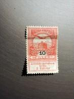 Timbre Magyar Posta : 10 Filler, - Hongrie