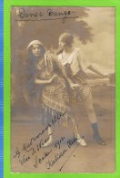 Katieza Kess, danseuse , Scala 1912, 'Danse Tango' Anvers,  autographe