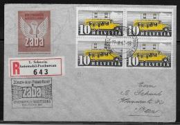 Suisse - Recom.Schweiz.Automobil-Postbureau 17.X.42 Pour Bern.18.X.42 - Svizzera