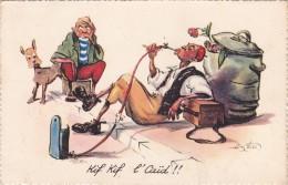 CPI MAROC - Illustrateur P. Néri - Fumeur De Narguilé Kif Kif L' CAID !! @ Humour Carte Humoristique - Andere Zeichner