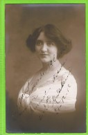 Ir�ne de Fallieres, Autographe, theatre vari�t�s 21-12-1912