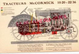 MC CORMICK - TRACTEUR 10/20  22/36 - Tracteurs
