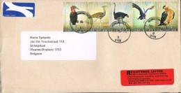 South Africa 2009   Postal Cover Monument Park - Schepdaal (Belgium) Birds - Afrique Du Sud (1961-...)