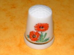 Dé à Coudre - Fleurs - B20 - Ditali Da Cucito