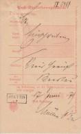 Einlieferungsschein Stettin R1  17.6.1879 - Deutschland