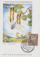 DR Sonderkarte 7.KWHW-Reichs-Straßensammlung EF Minr.751 SST Frankfurt 30.3.41 - Deutschland
