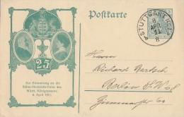 DR Privat-Ganzsache Minr. PP27 C123 Stuttgart 8.4.11 - Deutschland