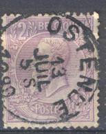 _5Bm-995: N° 52: E9: OSTENDE - 1884-1891 Léopold II