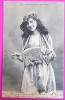 Cpa Fantaisie Bergeret Nancy N°4 Fêtes Et Porte Bonheur 1902 - Jeune Fille Frau Lady Avec Pendentif Cochon Porte Veine - Bergeret