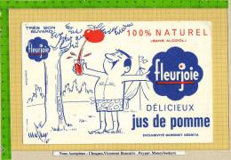 BUVARD : Delicieux Jus De Pomme  FLEURJOIE - Limonades