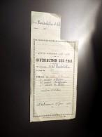 Distribution De Prix à Mont De Marsan , Année Scolaire 1957/1958 - Diplômes & Bulletins Scolaires